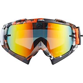 O'Neal B-10 Gogle, pixel orange/white